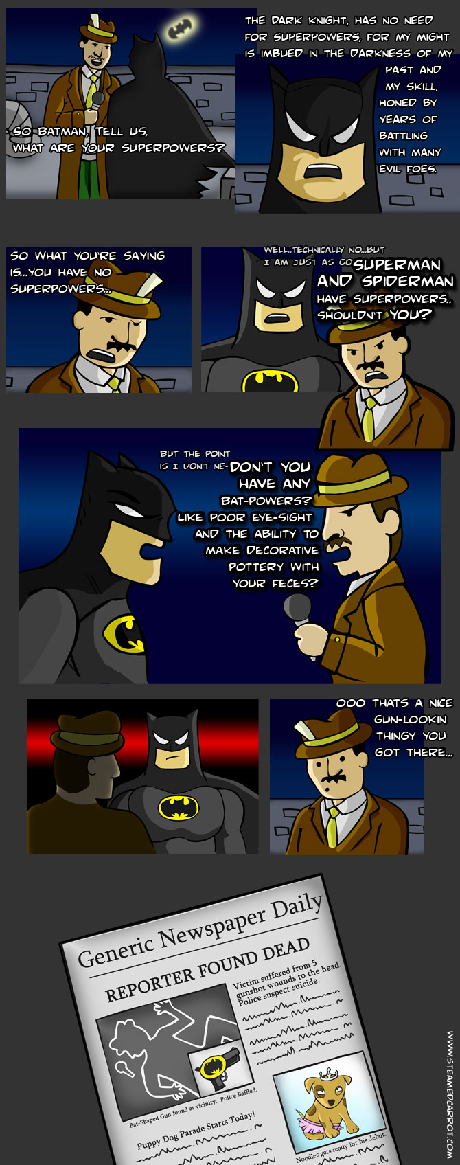 Dateline: Batman